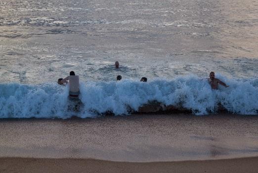 Petites vagues pour se reposer