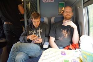 Camelot dans le train