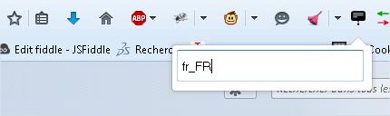 Figure 5 : aperçu du plugin de changement de langue de Firefox